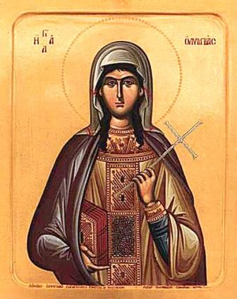 St Olympias the Deaconess