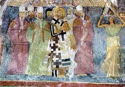 St. Sava III, archbishop of Serbia (1316)