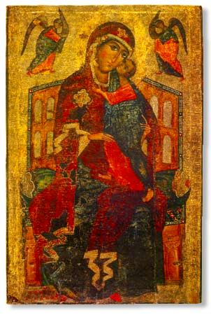 'Tolga' Icon of the Most Holy Theotokos (1314)