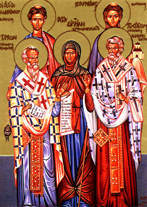The Holy Apostles Prochorus, Nicanor, Timon and Parmenas