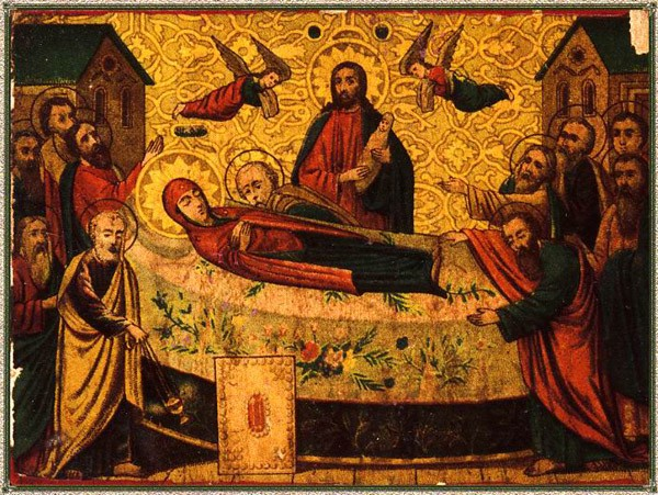 Reverence list of the Dormition Icon of the Mother of God