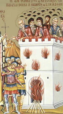 The 26 Martyrs of Zographou Monastery, Mt. Athos, martyred by the Latins (1284)