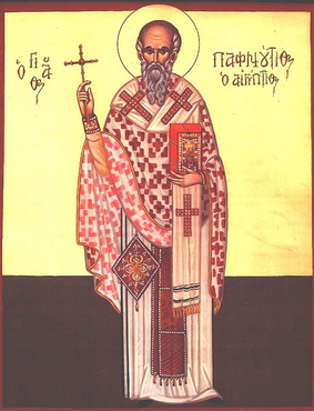 Martyr Paphnutius and 546 companions in Egypt (3rd c.)