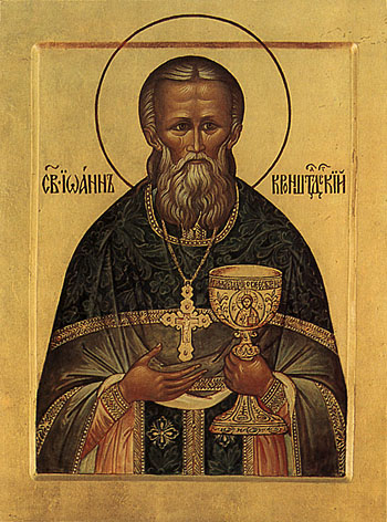 Righteous John, Wonderworker of Kronstadt (1908)
