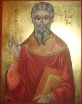 Hieromartyr Priest Socrates and Martyr Theodote of Ancyra (230)
