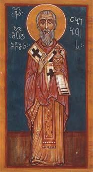Hieromartyr Abibus, bishop of Nekressi in Georgia (6th c.)