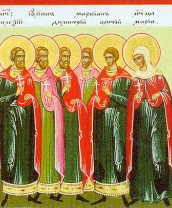 The Holy Martyrs Julian and Marcian, and others with them