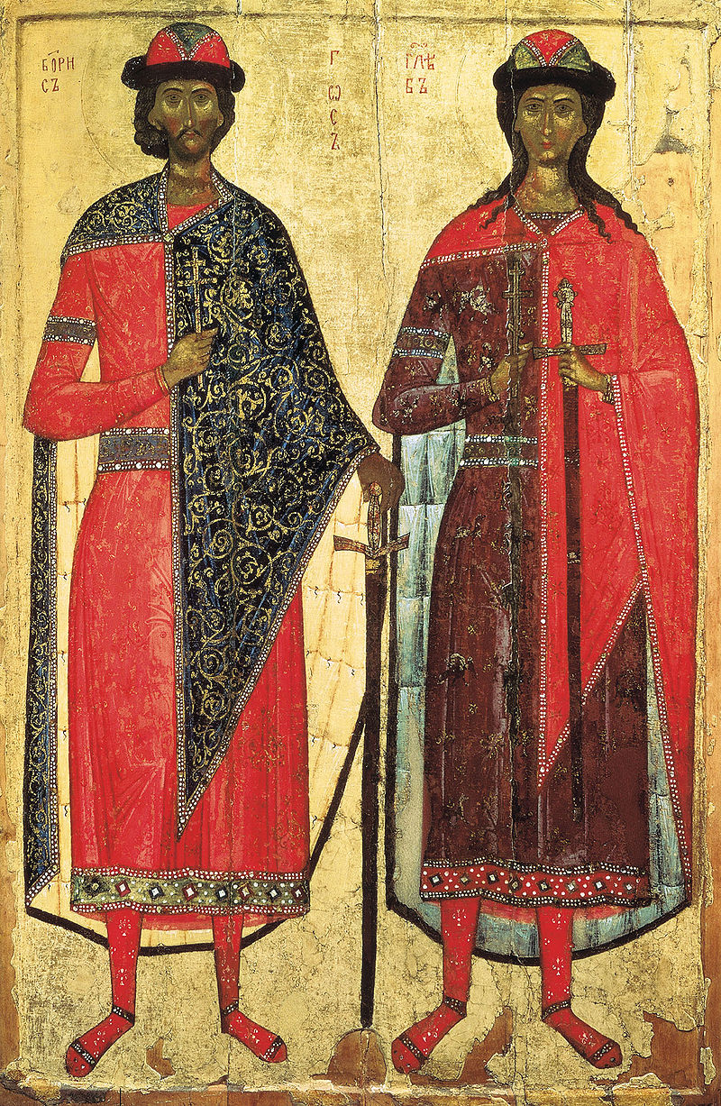 Holy Martyrs and Passion-bearers Boris and Gleb of Russia