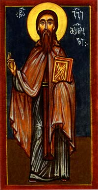 Venerable George of Mt. Athos, the Builder (1029)