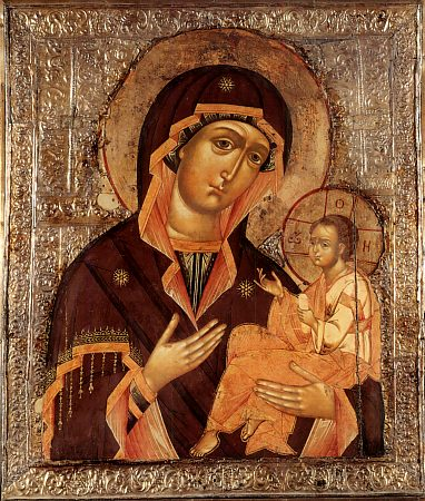 The Gruzinian (Georgian) Icon of the mother of God