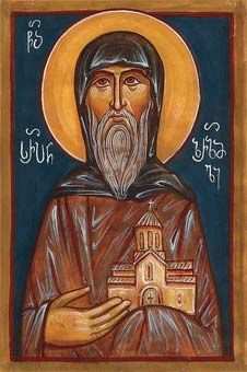 St. Serapion of Zarzma, Georgia (900)