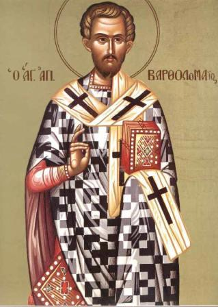 The Holy Apostle Bartholomew