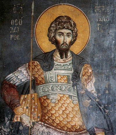 The Holy and Great Martyr Theodore Stratelates
