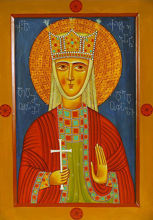 The Holy Martyr Ketevana, Queen of Georgia