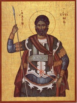 The Holy and Great Martyr Eustace (Placidus)