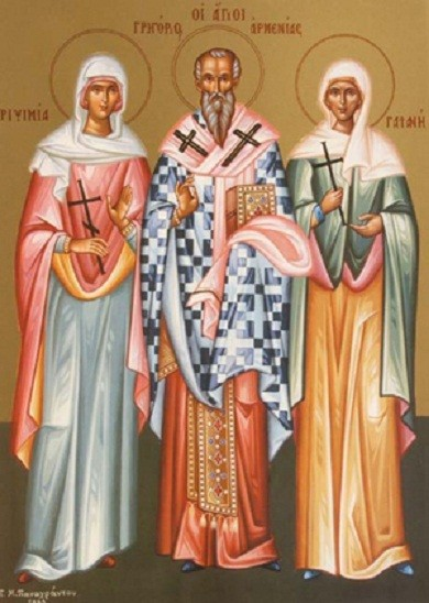 The Holy Martyrs Gaiane, Rhipsimia and 35 other nuns