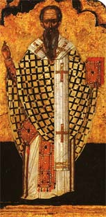 The Hieromartyr Dionysius the Areopagite