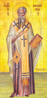 St Meletius, Archbishop of Antioch