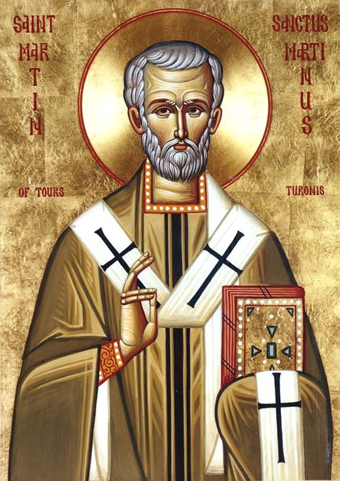St Martin, Bishop of Tours
