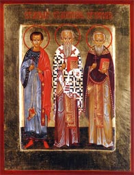 The Hieromartyr Acepsimas, Bishop of Naeson, and others with him