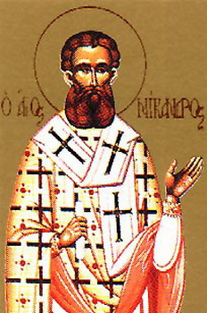 The Hieromartyrs Nicander, Bishop of Myra, and Hermas the Priest