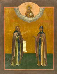Our Holy Mother Matrona of Constantinople